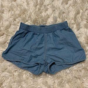 POLO RALPH LAUREN girls denim float shorts
